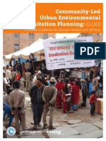 Community-Led Urban Environmental Sanitation Planning