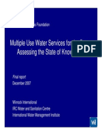 Multiple-Use Water Services for the Poor