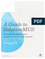 Guide to SolutionMUS Putting Multiple-Use Water Services into Action
