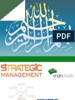 Strategic Management of Engro Foods