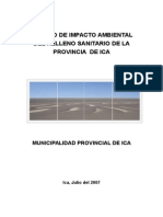 Estudio de Impacto Ambiental del Relleno Sanitario de Ica.doc