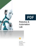 Robotics and Automation Lab Report