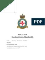 History of RAF Squadron 145