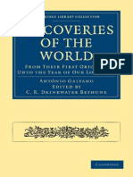 Antó nio Galvano, C. R. Drinkwater Bethune editor, Richard Haykluyt translator Discoveries of the World From their First Original Unto the Year of our Lord 1555 Cambridge Library.pdf