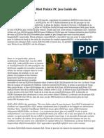 League Of Legends Riot Points PC Jeu  Guide de StratAfA�gie
