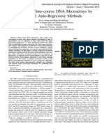 Modelling Time-course DNA Microarrays by Kernel Auto-Regressive Methods