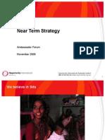 Near Term Strategy