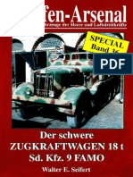 Waffen Arsenal - Special Band 36 - Der schwere Zugkraftwagen 18t - Sd.Kfz. 9 Famo