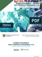 Análisis Estratégico - Caso Telefónica Venezolana C. A.