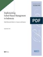 13 Implemn SBM - Indo (Heyward, Cannon, Sarjono, 2011)