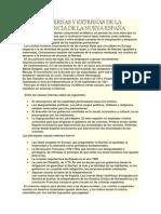 CAUSAS INTERNAS Y EXTERNAS DE LA INDEPENDENCIA DE LA NUEVA ESPAÑA.docx
