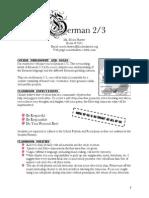 disclosure statement - german 2