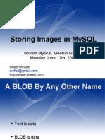 Images in MySQL