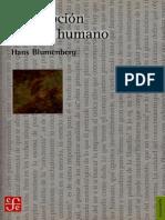 Descripción del Ser Humano - Hans Blumenberg.pdf