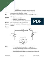 Peka Form 5 ( Ohm's Law)