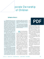 Corp Ownership of Children