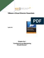 9781783986521_VMware_vCloud_Director_Essentials_Sample_Chapter