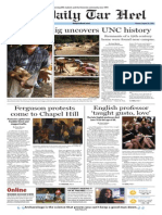 The Daily Tar Heel for August 25, 2014