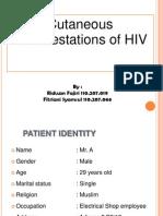 Cutaneous Manifestations of HIV