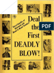 """Deal the First Deadly Blow _  unarmed combat method of Dermot """"Pat"""" O'Neill"""