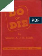 Do or Die by AJ Biddle