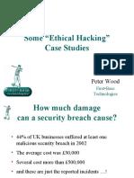Hacking Case Studies
