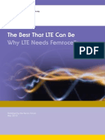 Why Lte Needs Femto Cells