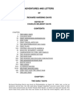 Adventures and Letters of Richard Harding Davis by Davis, Richard Harding, 1864-1916