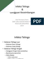 DT Infeksi Telinga Dan Gangguan Keseimbangan (PRINT) - DWI PERMANA PUTRA