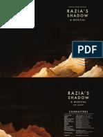 Razia's Shadow - A Musical Digital Booklet