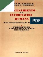 Lindsay-Norman 1972 Procesamiento de Información Humana I. Percepción y Reconocimiento de Formas.pdf