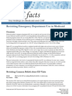 MACPAC analysis of how beneficiaries use emergency rooms