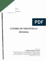 PROGRAMA CÁTEDRA DE VIOLONCHELO WILLIAM MOLINA 1998.pdf