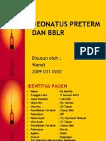 neonatus preterm dan bblr