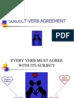 subject verb agreement slideshow