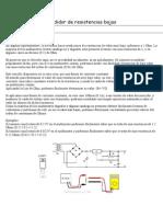 Medidor de resistencias bajas.doc
