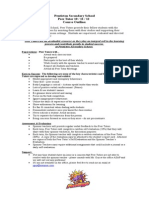 course outline -  august 2014