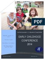 YAAEYC Conference Brochure 2014