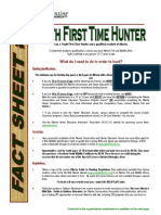 Youth First Time Hunter - Hunting for Tomorrow Foundation