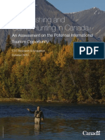 Sport Fishing and Game Hunting in Canada
