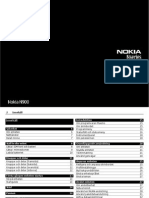 Nokia N900 User's Guide (Swedish)