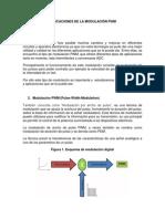 Aplicaciones de La Modulación PWM
