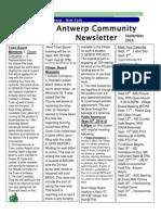 September Newsletter 2014 - Copy