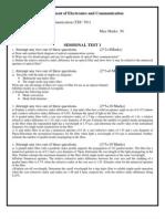Optical Fiber Communication TEST