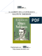 7243149 Ralph Waldo Emerson El Espiritu de La Naturaleza