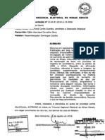 Acórdão Do TREMG No Recurso Em Representação Eleitoral 214487