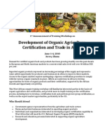Organic Agriculture