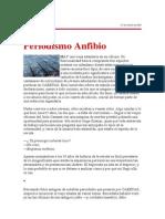 Periodismo anfibio. Por Jaime Bedoya