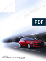 2013 Mazda Sustainability Report
