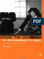 Anthropology - Routledge, An Anthropologist in Japan - Glimpses of Life in the Field [1999 Isbn0415195748]